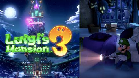【Switch】《Luigi Mansion 3》10月推出!陰森酒店探險 8人協力用吸塵機捉鬼
