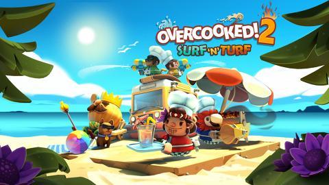 《Overcooked! 2》12個全新關卡登場  海陸異國風情新食譜+新廚師!