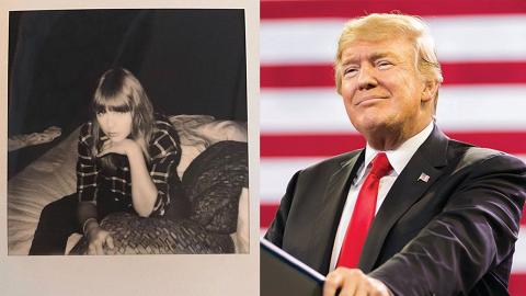 Taylor Swift表態支持民主黨候選人 特朗普回應:喜愛程度扣掉25%