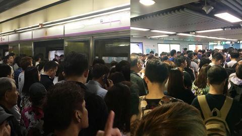 【港鐵故障】返工時間港鐵4綫故障  全城再度逼爆各大車站