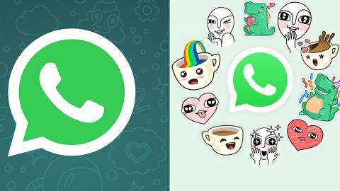 WhatsApp 新增貼圖功能 柴犬/恐龍圖案都有得用!