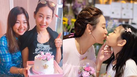 41歲楊卓娜為最佳開明後母 對親生女兒與繼女一視同仁不偏心