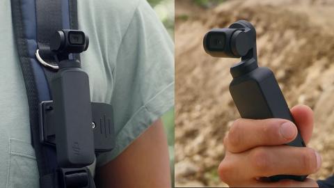 DJI Osmo Pocket 12cm迷你雲台相機 三軸防震/4K影片/直接連手機拍攝