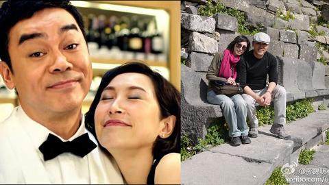 劉青雲郭藹明結婚21年風雨不改 每年親手寫聖誕卡簡單得嚟好恩愛