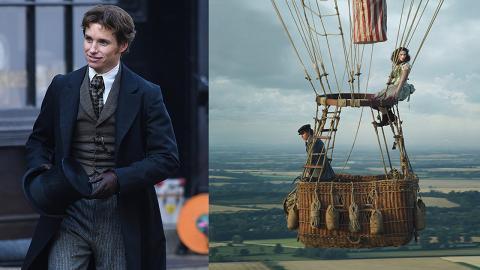【The Aeronauts】英倫紳士帥氣造型曝光!英國男神Eddie演19世紀科學家