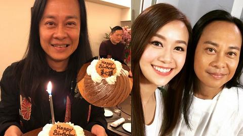 蔡一智與黃子華古巨基飯聚賀54歲生日 蛋糕上字句超級爆笑