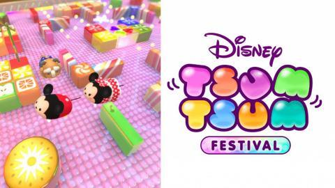 【Switch】迪士尼《Tsum Tsum 嘉年華》新遊戲 4人派對遊戲!經典模式線上對戰