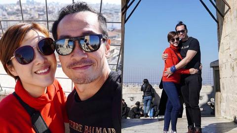 陳豪陳茵媺結婚6年依然糖黐豆 約定每年去旅行二人世界為感情保溫