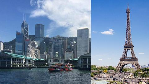 2019全球十大生活成本最貴城市香港首登第一!與巴黎、新加坡睇齊