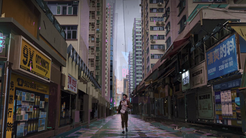【愛.死.機械人】Netflix動畫以香港街頭為背景 畫面逼真細緻獲讚高質
