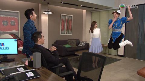【開心速遞】大小姐為討好外國老闆扮春麗 群姐亂入拖地反被激讚好得意