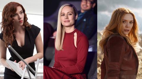 【復仇者聯盟4】10個Marvel電影女神 黑寡婦性感亮麗、Marvel隊長火速上位