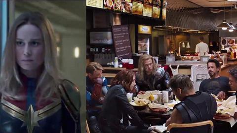 【復仇者聯盟4】Marvel公開歷年21個片尾彩蛋 元祖復仇者頹食快餐畫面成經典