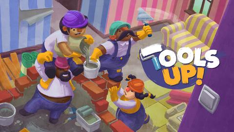 【Switch】考驗友情新Game《Tools Up!》12月推出!4人合作裝修屋企玩到崩潰