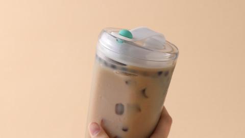 台灣新推無飲管珍珠奶茶環保杯 走飲管都飲到粒粒珍珠!