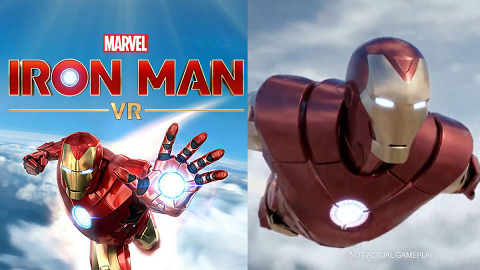 【PSVR】VR《Marvel's Iron Man VR》新遊戲 變身鐵甲奇俠高速飛行空中戰鬥