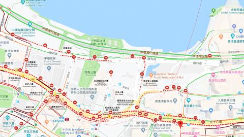 【逃犯條例】運輸署最新交通安排 龍和道、夏愨道等路段封閉/逾80條巴士線改道