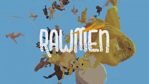 【Steam】全新搞笑多人遊戲《RAWMEN》 裸體大叔潑湯對戰同朋友8人大亂鬥