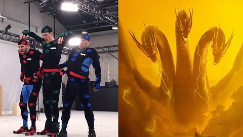【哥斯拉:王者巨獸】三頭龍原來由三位演員扮演!幕後演員猙獰表情超搶鏡