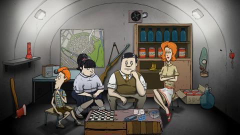 另類逃生遊戲《60 Seconds! Reatomized》末日來臨前60秒收集物資逃至地下室