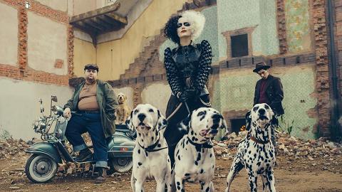 101斑點狗外傳電影《Cruella》後年上映 Emma Stone還原經典反派古伊拉