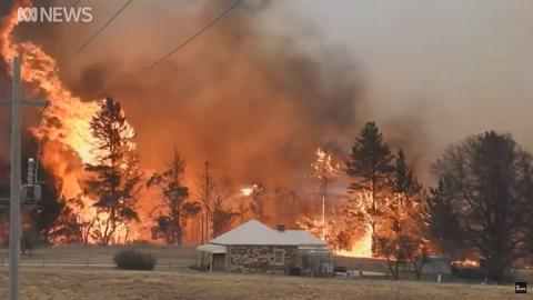 澳洲東部經歷數十年來最嚴重乾旱 前所未見多處發生大火仍未受控
