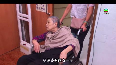 【東張西望】哭訴兒子搶公屋趕自己去老人院 71歲婆婆是戶主卻無家可歸