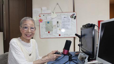 日本89歲婆婆長壽秘訣靠打機 打足38年做Youtuber開直播!最愛玩《GTA》