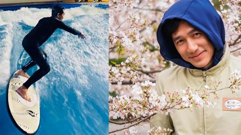 57歲梁朝偉仍熱愛嘗試新事物 挑戰滑浪成功上板型爆