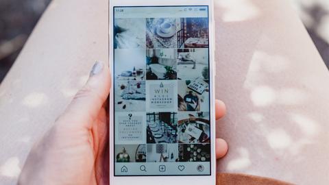 【Instagram】IG Story7大隱藏功能推介!8款排版新Template/GIF圖做背景