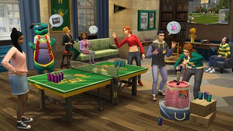 《模擬市民4玩轉大學》全新資料片登場 走堂/出pool/開Party!體驗大學生活