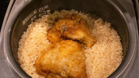 日本網民自製懶人KFC炸雞焗飯 3個步驟超簡單電飯煲食譜