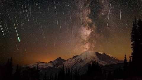 【天文現象2020】2020年首場流星雨周六上演 象限儀座流星雨高峰期每小時120顆