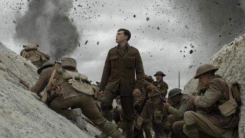 史詩式鉅獻《1917:逆戰救兵》「一鏡到尾」拍攝榮獲金球獎3項提名