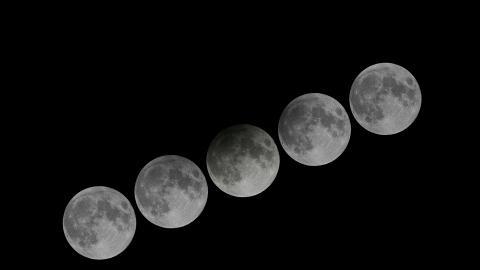 【天文現象2020】2020年首次半影月食 1月11日凌晨上演