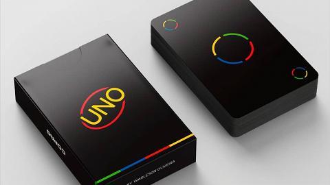 【UNO】簡約型格暗黑UNO登場!磨砂質感設計極顯高級格調