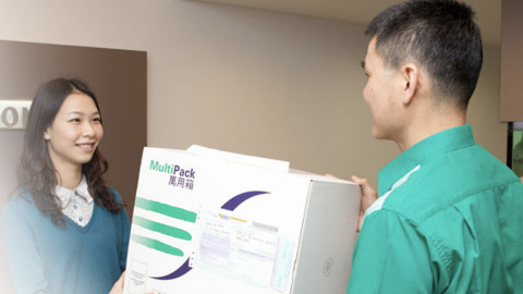 【新冠肺炎】香港郵政實施「口罩先派」 調配額外人手優先處理口罩派遞服務
