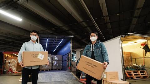【派口罩】黃之鋒再成功購入120萬個口罩 將派發給各區有需要市民
