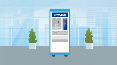 減塑新潮流 各區加水站幫你補水