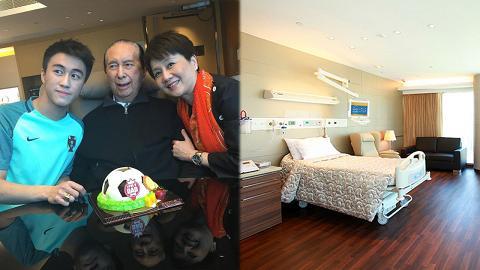 傳何鴻燊住院11年醫療費超過15億 養和醫院2000呎獨立套房曝光