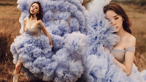 譚凱琪大曬超唯美法式婚紗照 !仙氣滿瀉充滿異國風情獲網友大讚好靚