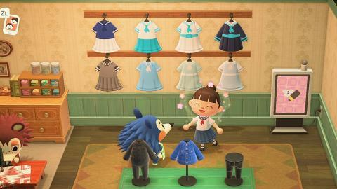 【動物之森/動物森友會】香港玩家畫出中小學校服 夏季白裙/旗袍服飾青春回憶