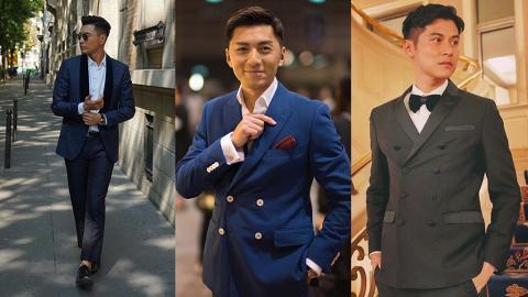 盤點15位香港男星西裝造型!粉色西裝穿搭大受歡迎、花紋格紋搭出老土定時尚?