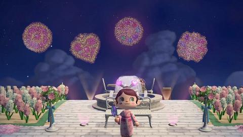 【動物森友會/動物之森】過100款煙火設計推介 動物鄰居/Sanrio角色變煙花圖案