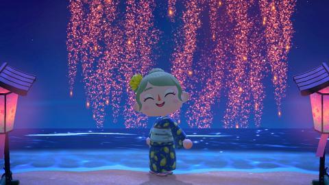 【動物森友會/動物之森】45款夏祭浴衣設計!著花紋/拼布浴衣去夏日煙火大會