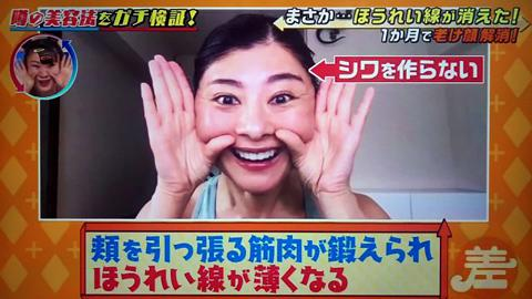 日本節目實測「扮鬼臉」美容法 3組簡單動作減法令紋、魚尾紋一個月可見效