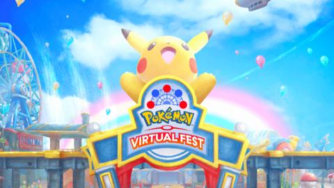 Pokemon Virtual Fest樂園手機/PC免費玩 限定開放玩迷宮解謎/攤位遊戲