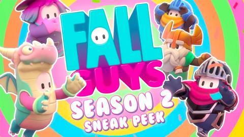 【Fall Guys終極淘汰賽】第2季中世紀主題10月登場 全新關卡+騎士/法師造型