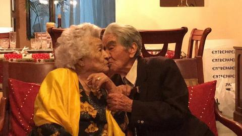 全球最長壽夫婦結婚79年合共逾214歲 分享婚姻之道在乎尊重從不在子女面前吵架