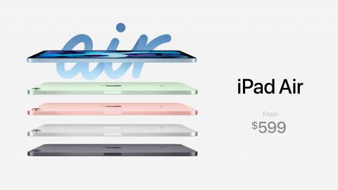 【蘋果發佈會2020】Apple iPad第8代+iPad Air全新登場 16大重點整合+價錢/開售日期